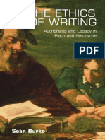 Sean Burke-The Ethics of Writing_ Authorship and Legacy in Plato and Nietzsche-Edinburgh University Press (2008)
