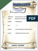 Principales Actividades Economicas Del Peru