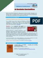 Boletín N° 10, octubre 2014