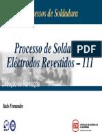 Processo Soldadura Electrodo Revestido - 111