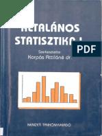 Általános Statisztika Példatár 1-2.