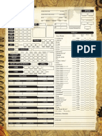 PureSteam Character Sheet - Color