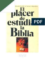 El Placer de Estudiar La Biblia