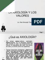 Clase5.LA AXIOLOGÍA Y LOS VALORESNOE.pptx