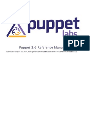 puppet_reference_3_6 pdf | Reserved Word | Variable