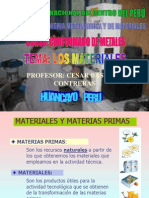 LOS MATERIALES.ppt