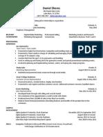 daniel sheres resume