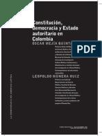 Mejia y Munera. 2008. Constituciona, democracia y Estado autoritario en Colombia.pdf