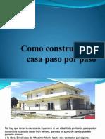 Como construir una casa paso por paso 2.ppt
