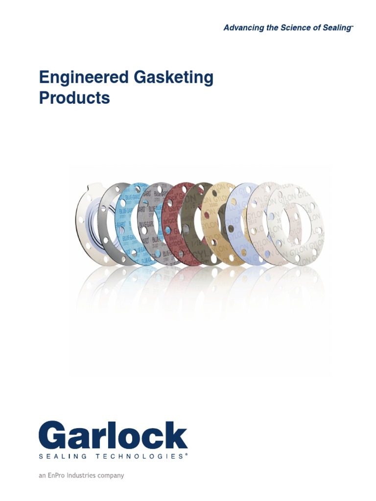 Garlock Gasket Sheets Steam Carbon