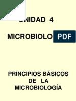 PRINCIPIOS BÁSICOS DE LA   MICROBIOLOGÍA  unidad 4 ALEVIC.ppt