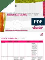 Voto por los derechos humanos - Región San Martín