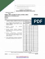 LPKPM SPM 2013 AddMaths Paper 1,2