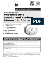 Kidde Smoke and Carbon Monoxide Alarm KN COPE IC User's Guide