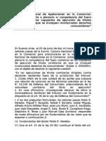 PLENARIO COMERCIAL - COMPETENCIA EN LOS SUPUESTOS DE EJECUCION INVOLUCRADOS CONSUMIDORES (1).doc