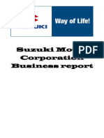 Suzuki Motor Corporation Business Report