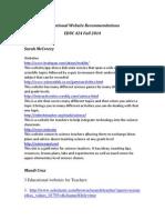 educ424 website resources