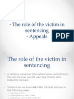 lesson 22 - the role of the victim in sentencing