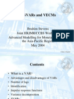 VAR, SVAR and VECM