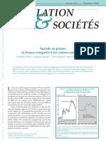 Le rapport de l'INED sur les suicides en prison en France