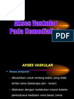 Akses Vaskular pada hemodialisis.ppt