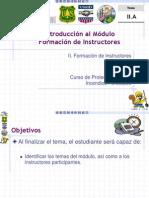 02-A Introducción al Módulo Formación de Instructores.ppt