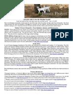 Jumaa Prayer Bulletin 3 October 2014