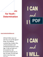 Bible Lessons for Youth - Determination