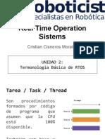 [RTOS] UNIDAD 2- Terminología Básica