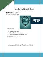 Paradigmas Organizacionales y Personales
