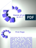 3d Home Circles for Powerpoint