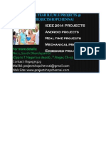 IEEE 2014 BE ME  cse Projects