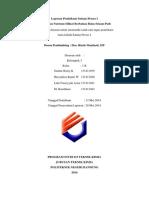 Laporan Pembuatan Natrium Silikat
