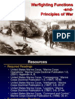 Warfighting Functions and Principles of War (1800, 13 JUL 09).ppt