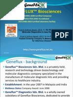 GENEFLUX Corporate Profile Dec 2012