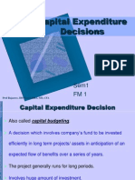 32611524 Capital Expenditure Decisions