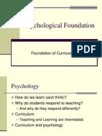 Psychological Foundation