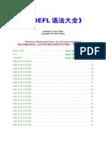TOEFL Structure Bank