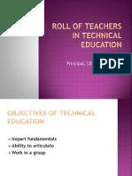 Roll of Teachers CU 10-10-12