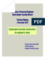 Sustainable Concrete Construction - Engineers View