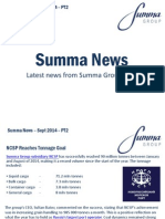 Summa Group News - Sept 2014 PT2