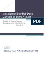 Manajemen Sumber Daya Manusia Di Rumah Sakit