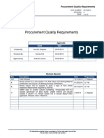 EC SM210 ProcurProcurement-Quality-Requirementsment Quality Requirements