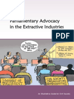 Parliamentary Advocacy in the Extractive Industries