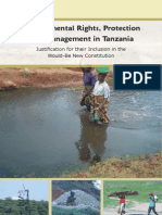 Environmental Rights, Protectionand Management in Tanzania