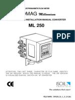 ML250 Manual