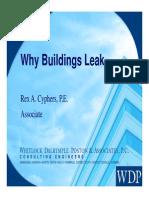 Why Buildings Leak UVA
