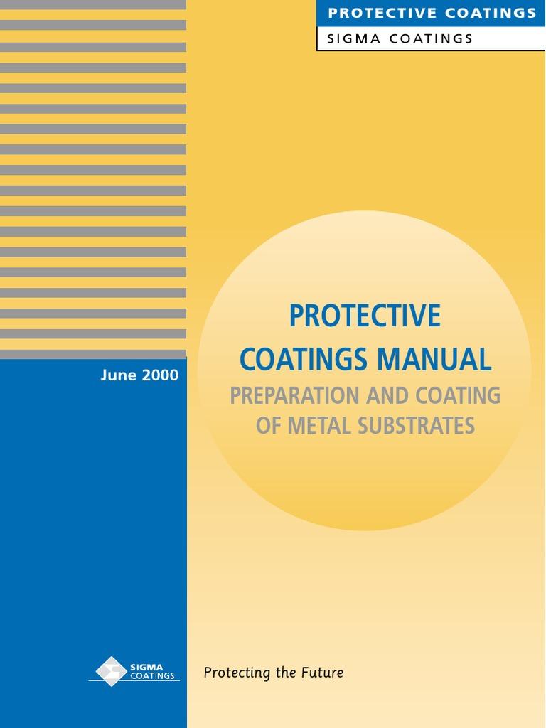 Sigma PC Manual | Rust | Corrosion