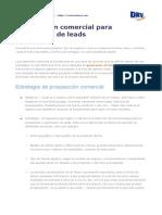 Prospección comercial para generación de leads - DRVSistemas.com.pdf