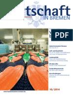 Wirtschaft in Bremen 10/2014 - Fischwirtschaft Bremerhaven